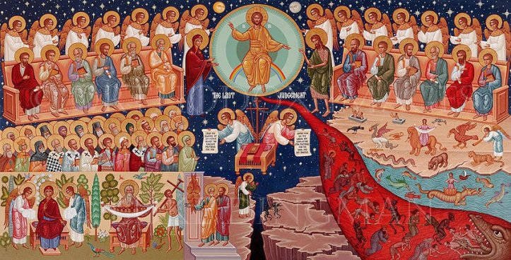 Image result for Icon of the Last Judgement